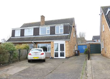 Thumbnail 3 bed semi-detached house for sale in Grange Drive, Melton Mowbray