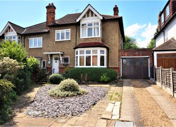 Thumbnail 4 bed semi-detached house for sale in Monkhams Avenue, Woodford Green