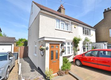 Thumbnail 2 bed semi-detached house for sale in Orchard Close, Bushey Heath, Bushey
