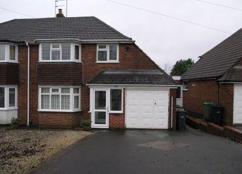 3 bed semi-detached house for sale in Bassnage Road, Hayley Green, Halesowen B63