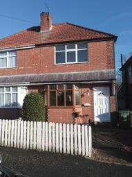 Thumbnail 2 bed semi-detached house to rent in Fairfield Road, Oadby, Leicester