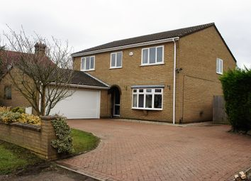 Thumbnail 4 bed detached house to rent in Chapel Street, Yaxley, Peterborough