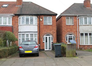 Thumbnail 3 bed semi-detached house to rent in Maxwell Avenue, Handsworth, Birmingham