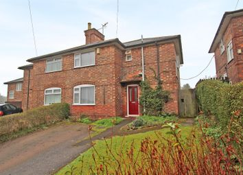 Thumbnail 3 bed semi-detached house for sale in Oxton Avenue, Sherwood, Nottingham
