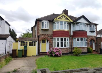 Thumbnail Semi-detached house for sale in Ravensfield Gardens, Stoneleigh, Epsom