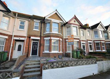 Thumbnail 3 bed terraced house for sale in Ashley Avenue, Cheriton, Folkestone