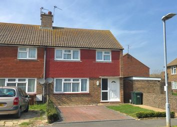 Thumbnail 3 bed terraced house to rent in Ashington Road, Eastbourne