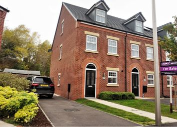 Thumbnail 3 bed town house for sale in Saner Drive, Northwich