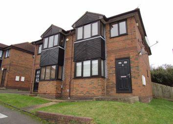 Thumbnail 1 bedroom flat to rent in Mistletoe Court, Mistletoe Hill, Luton