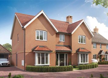 Thumbnail 5 bed detached house for sale in Bramley View, Bramley Nr Sherfield On Loddon, Hampshire