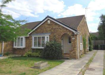 Thumbnail 2 bed semi-detached bungalow for sale in Chelkar Way, York