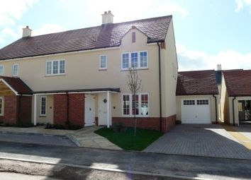 Thumbnail 3 bedroom semi-detached house to rent in Greenhouse Gardens, Cullompton
