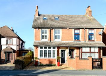 Thumbnail 4 bed semi-detached house for sale in Branksome Hill Road, Sandhurst, Berkshire