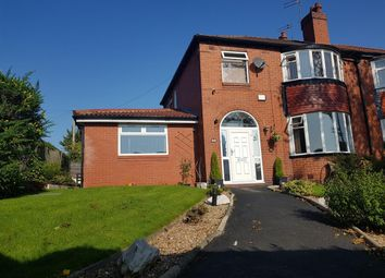 Thumbnail 4 bed semi-detached house for sale in Heywood Road, Prestwich, Manchester