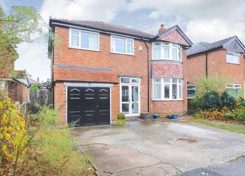 Thumbnail 4 bed detached house for sale in New Hall Avenue, Heald Green, Cheadle, Cheshire