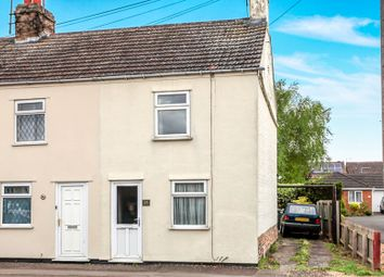Thumbnail 2 bed end terrace house for sale in Eyebury Road, Eye, Peterborough