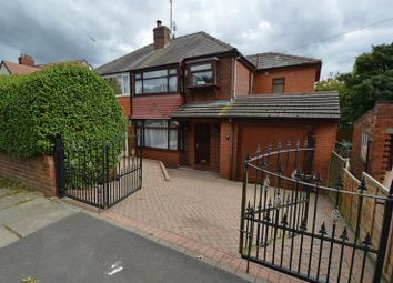 Thumbnail 4 bedroom semi-detached house for sale in Agecroft Road West, Prestwich, Manchester