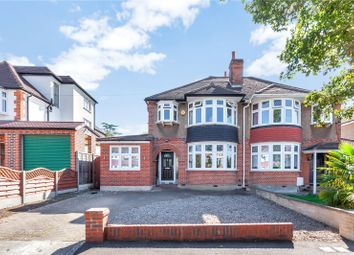 Thumbnail 3 bed semi-detached house for sale in Leyfield, Worcester Park