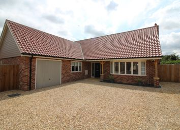 Thumbnail 3 bed detached bungalow for sale in Barn Piece Close, Salhouse, Norwich