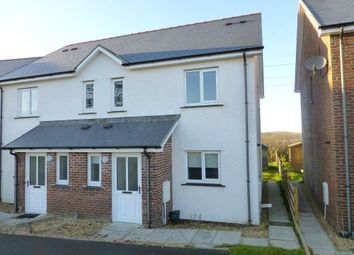 Thumbnail 3 bed semi-detached house for sale in Cwrt Deri, Cwmann, Lampeter