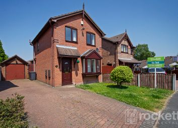 Thumbnail 3 bed detached house to rent in Springfield Drive, Kidsgrove, Stoke-On-Trent