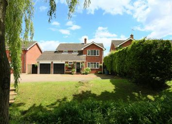 Thumbnail 5 bed detached house for sale in Brook Lane, Ranton, Stafford