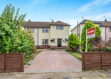 Thumbnail 2 bed semi-detached house for sale in Cambridge Crescent, Maidstone