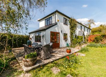 Thumbnail 3 bed semi-detached house for sale in Folly Cottages, Ashe Warren, Overton