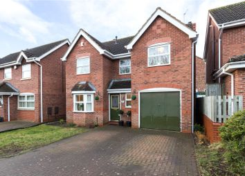 Thumbnail 4 bed detached house for sale in Lister Avenue, Warndon Villages, Worcester