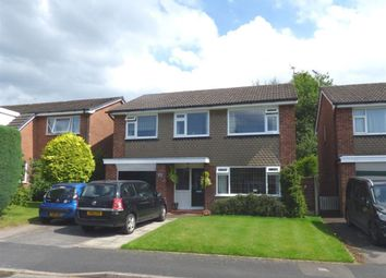 Thumbnail 4 bed detached house to rent in Brampton Avenue, Macclesfield