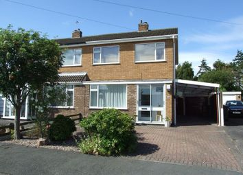 Thumbnail 3 bedroom semi-detached house to rent in Rydal Avenue, Loughborough