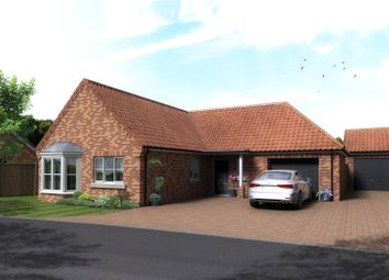 Thumbnail 3 bed detached bungalow for sale in Plot 84, The Cricketers, Holt Road, Horsford
