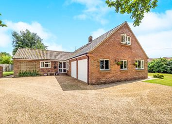 Thumbnail 5 bedroom bungalow for sale in Church Lane, Sparham, Norwich