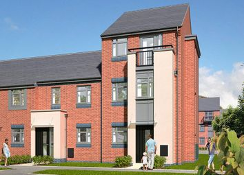 "Thumbnail 4 bed town house for sale in ""The Salcombe"" at Leek Road, Hanley, Stoke-On-Trent"