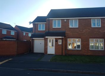 Thumbnail 4 bedroom semi-detached house to rent in Lissimore Drive, Tipton