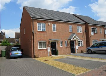 Thumbnail 2 bedroom semi-detached house for sale in Frederick Drive, Peterborough