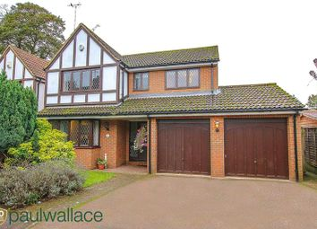 Thumbnail 4 bed detached house for sale in The Spur, Cheshunt, Waltham Cross