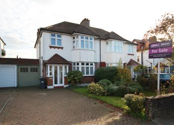 Thumbnail 3 bed semi-detached house for sale in Popes Lane, Ealing