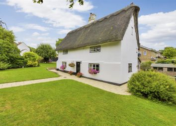 Thumbnail 4 bed detached house for sale in Church Way, Little Stukeley, Huntingdon