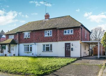 Thumbnail 3 bedroom semi-detached house for sale in Prince Of Wales Road, Outwood, Redhill