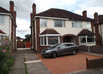 Thumbnail 3 bed semi-detached house to rent in Sundorne Avenue, Shrewsbury