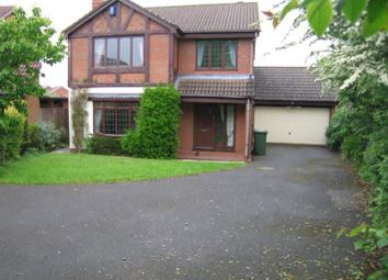 Thumbnail 4 bed detached house to rent in Shirehampton Close, Redditch