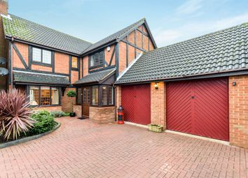 Thumbnail 5 bed detached house for sale in Fulbourne Close, Luton