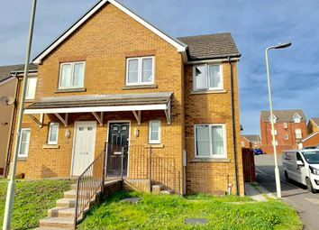 Thumbnail 3 bed property to rent in Swallow Close, North Cornelly, Bridgend