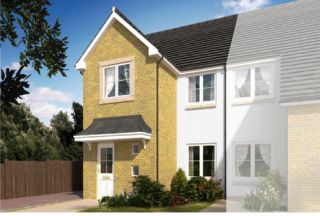 Thumbnail 3 bed semi-detached house for sale in Calder Grove, Caldercruix