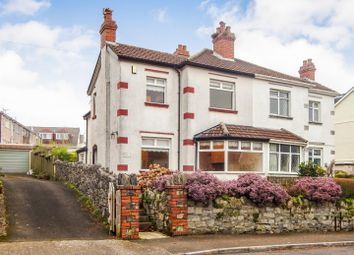 Thumbnail 3 bed semi-detached house for sale in Slade Road, Newton, Swansea