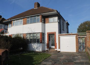 Thumbnail 3 bed semi-detached house to rent in Molescroft, New Eltham, London