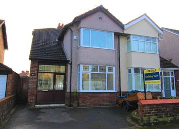 Thumbnail 4 bed semi-detached house for sale in De Villiers Avenue, Crosby, Liverpool
