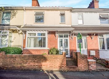 Thumbnail 3 bedroom terraced house for sale in Victoria Road, Wednesfield, Wolverhampton