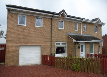 Thumbnail 4 bed semi-detached house for sale in Strathpeffer Crescent, The Rushes, Airdrie, Airdrie